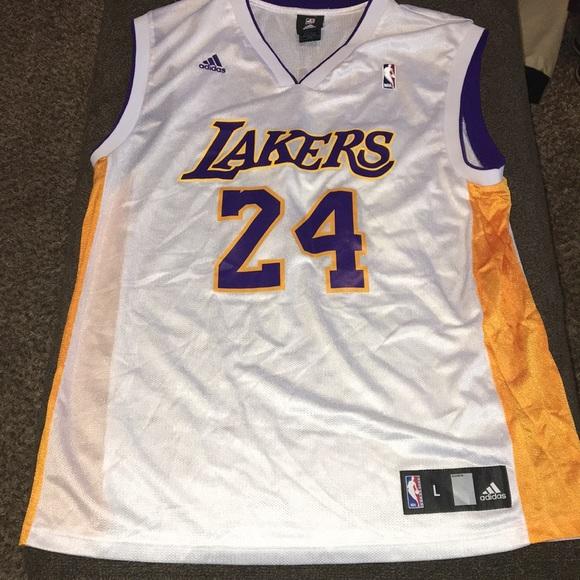 competitive price 84a3f 30741 Adidas Lakers Kobe Bryant swingman jersey Large vg